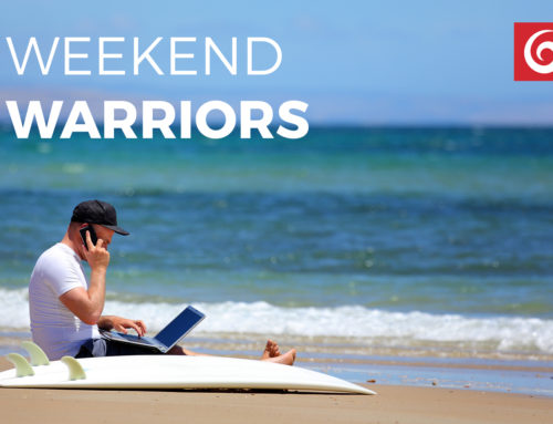Weekend Warriors – There are 7 days in a week, not 5.